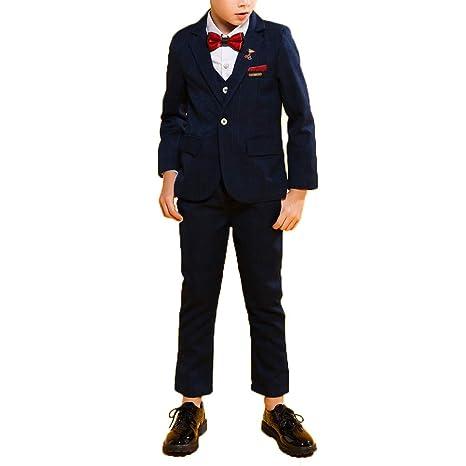 BP&S Traje Delgado de niño, Moda Estilo británico Vestido de ...