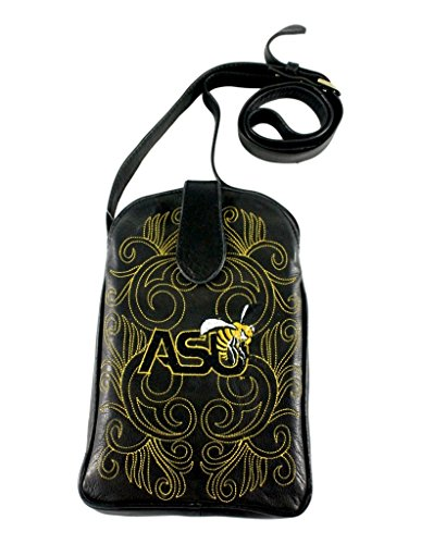 GAMEDAY BOOTS NCAA Alabama State Hornets Women's Cross Body Purse, Black, One Size