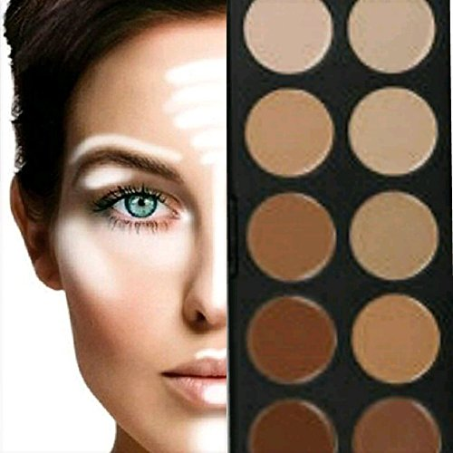 21 opinioni per BOOLAVARD 10 + 5 Colori Concealer Palette Make Up Palette Cosmetic Makeup Cream