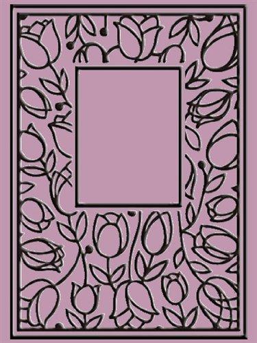 "Crafts-Too Embossing Folder 4""X6""-Tulip Window"