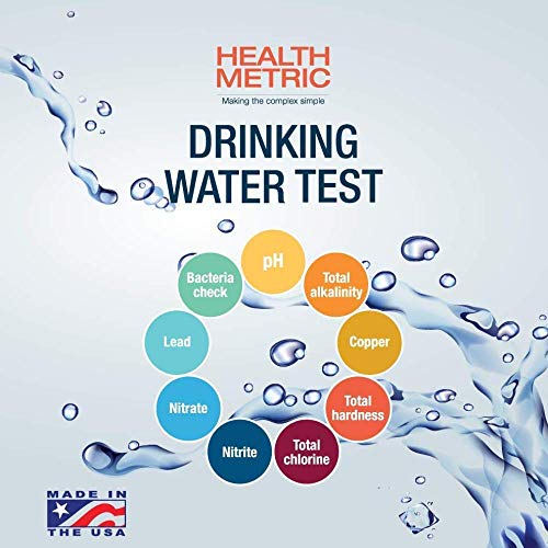 - Drinking Water Test Kit For Municipal Tap and Well Water - Simple Testing Strips For Lead Copper Bacteria, Nitrates, Chlorine and More