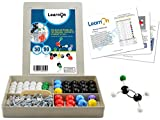 Organic Chemistry Molecular Model Kit Set for Ochem Students with User Guide - 140 Pieces