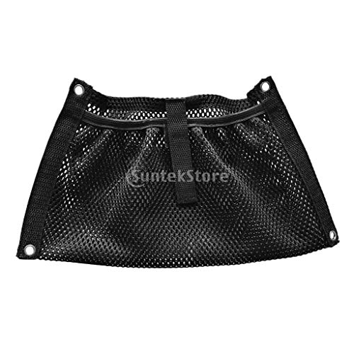 Durable Black Nylon Marine Boat Yacht Kayak Canoe Dinghy Gear Accessories Beer Tackle Box Storage Mesh Bag Side Pouch Organizer