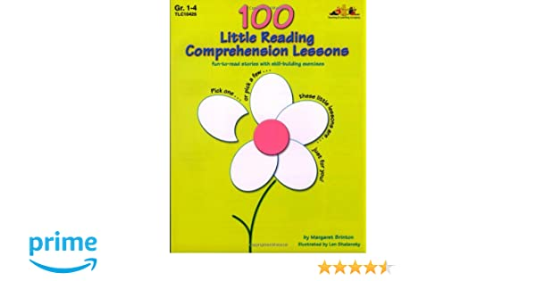 Amazon.com: 100 Little Reading Comprehension Lessons: Fun-to-Read ...