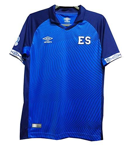 Umbro Youth El Salvador Home Jersey-Blue (YL)