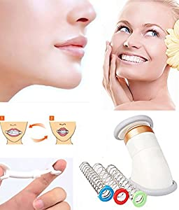 Neckline Slimmer Face Chin Lift, Facial Flex Face Neck Massager Jawline Exerciser Shaper for Double Chin Remover, Neck Pain Genie Neck Line Exercise Equipment with Bag from eyxformula
