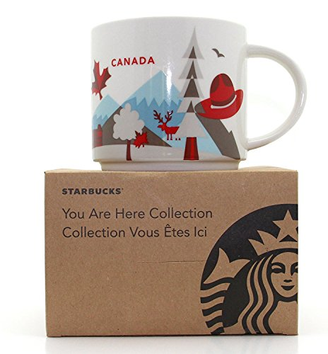 Starbucks Canada You Are Here (Wink Edition) Coffee Mug 14 oz
