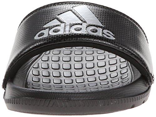 adidas Performance Volomix XJ Gleit Sandale Schwarz / Metallic Silber / Schwarz