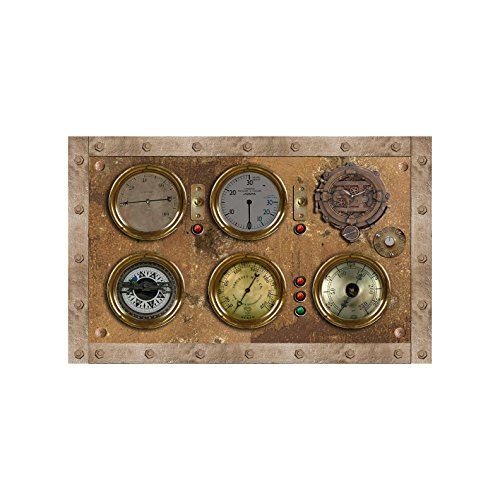 Steampunk Control Panel - Design 2 - Wall Decal 16