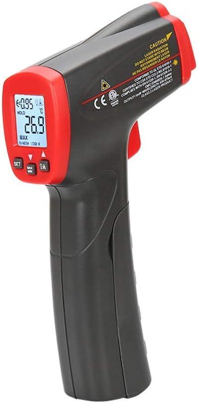 RTYUU Termómetro de Pistola de Infrarrojos, Equipos médicos para el hogar sin Contacto de Mano -32 ° C ~ 400 ° C (sin batería)