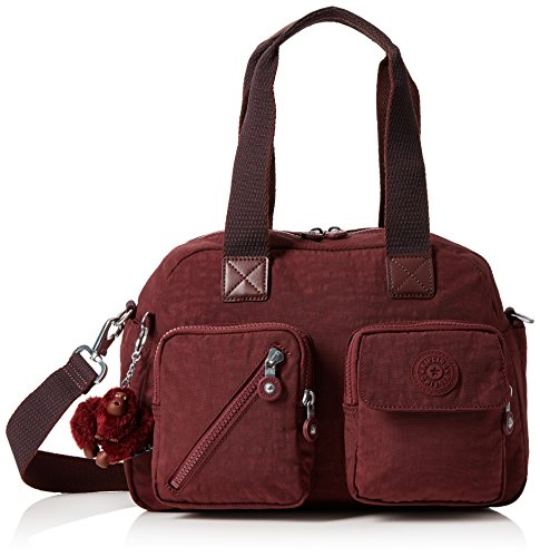 Kipling C Carmine Up Defea burnt Brown Satchel Women's 7rna7xWZA
