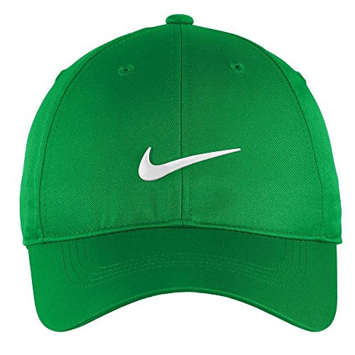 (Nike Authentic Dri-FIT Low Profile Swoosh Front Adjustable Cap - Green)