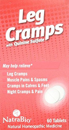 Bio Tabs 60 Natra (Natrabio Leg Cramps Tablets, 60 Count)