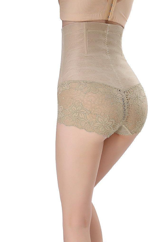 3385ee0e3e Smile YKK Apricot Lace Best Waist Cincher Girdle Belly Corset Body Shapewear  XXL  Amazon.co.uk  Clothing