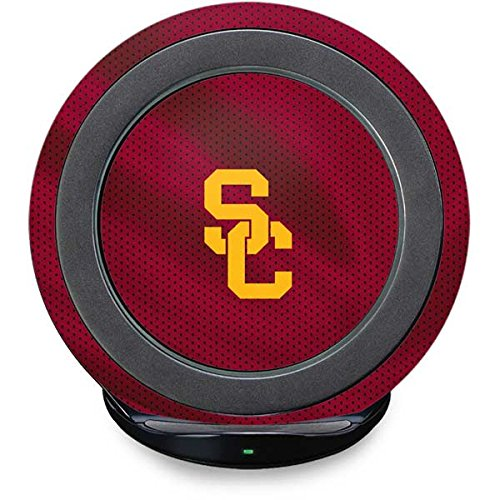 South Carolina Gamecocks Pedestal (University of Southern California Fast Charge Wireless Charging Stand Skin - USC Trojans Jersey | Schools X Skinit Skin)