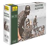 Heller - 49605 - Maquette - Infanterie Allemande - Echelle 1:72