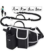 Dog Hands Free Leashes,Dog Bike Leash,Dog Bicycle Exerciser Leash for Exercising Training Jogging Cycling,Easy Installation,Removal Hand Free