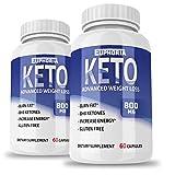 Premium Keto Pills - 2 Pack - Keto Pills from Shark Tank - Best Ketosis Supplement for Women and Men - Keto Capsules - Weight Loss Supplements - Best Keto Diet Pills - Boost Energy - Metabolism
