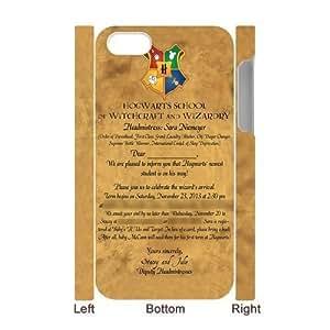 KOKOJIA Fashion harry potter Hogwarts Custom Luminous Case for IPhone 4/4s 3D