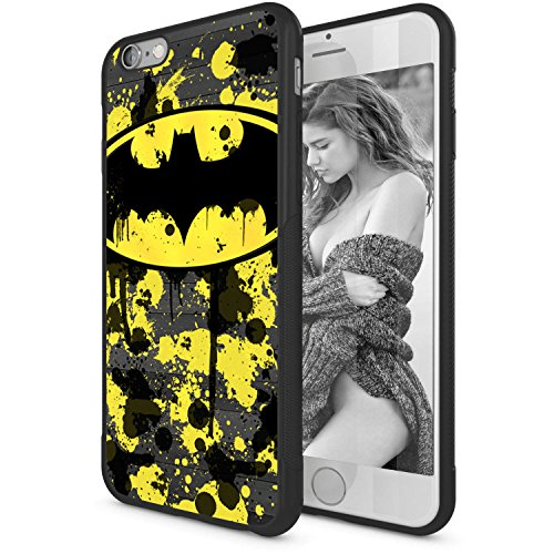 Onelee - Batman Logo Soft Rubber TPU Case for iPhone 6 / 6S 4.7