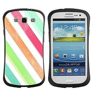 "Pulsar iFace Series Tpu silicona Carcasa Funda Case para SAMSUNG Galaxy S3 III / i9300 / i747 , Colores Blanco Verde trullo"""