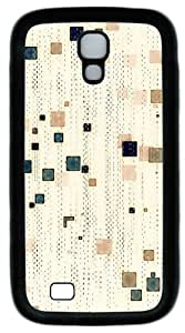 Cool Painting Abstract Patterns White Background PC Silicone Case Cover for Samsung Galaxy S4/I9500