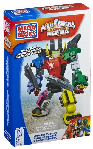 Mega Bloks Power Rangers Legendary - Set Megazord