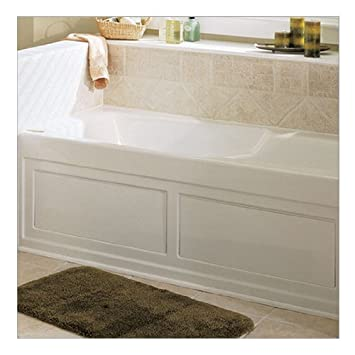Good Jacuzzi F958959WH 72 Inch By 20 Inch Bath Skirt For Nova 6 Whirlpools And
