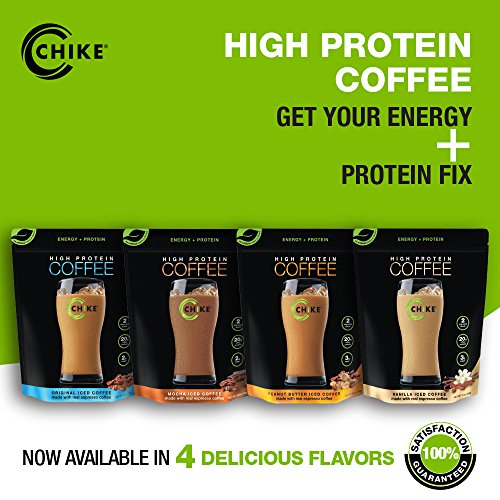 Chike High Protein Iced Coffee: Original, 14 Servings (16 Ounce) by CHIKE (Image #4)