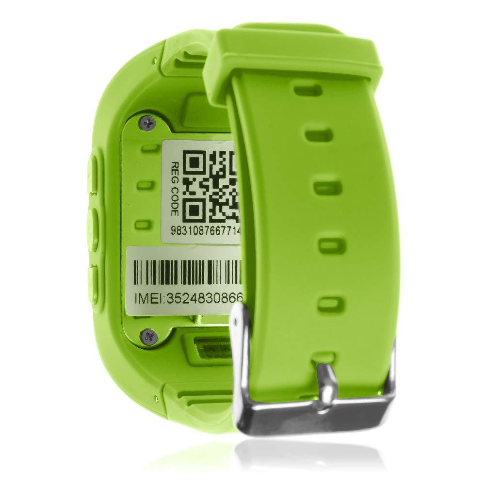 DAM TEKKIWEAR. DMW007GRN. Smartwatch GPS Q50 Especial para ...