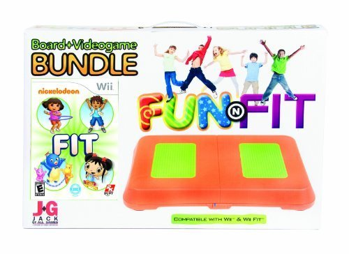 Nickelodeon Fit Board and Video Game Bundle by Intec ()