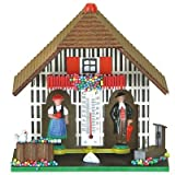 weather house barometer - German Black Forest weather house TU 805