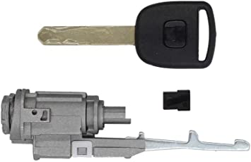 Car Auto Front Driver Side Key for Honda Accord CRV Door Lock Cylinder
