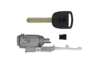 Amazoncom Ignition Switch Lock Cylinder Key For Honda CRV Element - Acura mdx wheel lock key