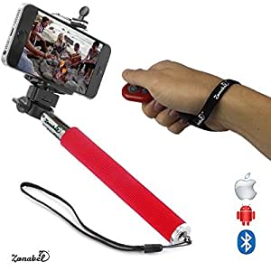 zonabel selfie stick no 1 best seller extendable monopod with bluetooth remote for. Black Bedroom Furniture Sets. Home Design Ideas