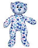 Cuddly Soft 16 inch Stuffed the Blue Heart Bear - We stuff 'em...you love 'em!