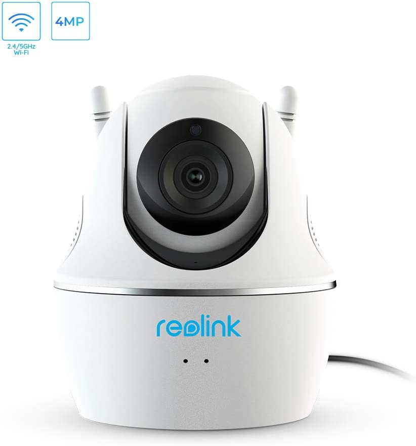 Reolink Home Security Wireless IP Camera Pan//Tilt Two Way Audio Support SD Card Slot Dual Band Wi-Fi Pan//Tilt Cam - C1 Pro