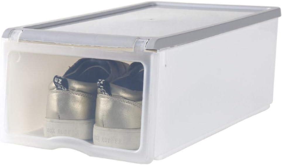 N/X Caja De Zapatos De Plástico Transparente. Artefacto De Almacenamiento De Zapatos. Caja De Zapatos De Moda. Caja De Almacenamiento De Plástico.