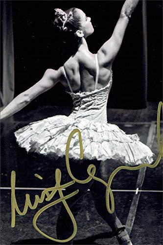 Misty Copeland Autograph Replica Super Print - Black White - Portrait - Unframed