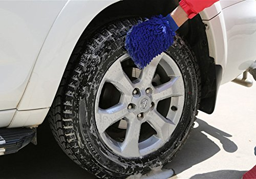 Buyplus Magic High Pressure Wand - 2018 Improved Power Washer Water Hose Nozzle, Cleaning Gloves, Garden Hose Sprayer for Car Wash and Window Washing, Only Dynas Pro-shop is the Original Seller.