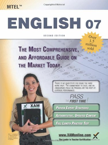 MTEL English 07 Teacher Certification Study Guide Test Prep