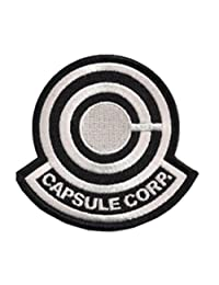 "Anime Dragonball Z Capsule Corp Sew/Iron-on Patch 3.25"" X 3.25"" InspireMe Family"