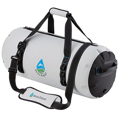 Såk Gear DuffelSåk Pro 100% Waterproof & Airtight Duffle Bag | 40L Grey ()