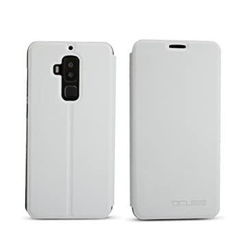 best website 09cf4 b1ee6 Phone Case for Homtom S8,Kickstand,Magnetic Closure,PU Leather,Full Body  Protection for Homtom S8,white