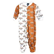 Texas UT Longhorns Baby Boys Footed Infant Jumpsuit, Size 12m