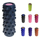 8 Colors Foam Roller Grid Roller Trigger Point Physio Massage Yoga Pilates - Pink