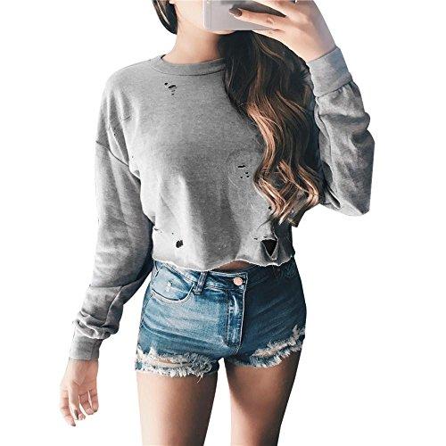 Lined Striped Sweatshirt - 8