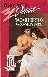 McConnell's Bride, Naomi Horton, 0373057199