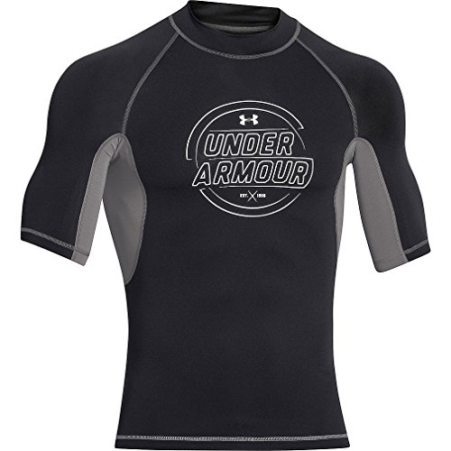 UA Ames Rash Guard Men's Surf Short Sleeve T-Shirt