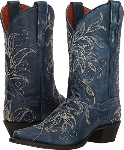 7f82c6962db Dan Post Womens Nora Leaf Stitch Cowboy Boots